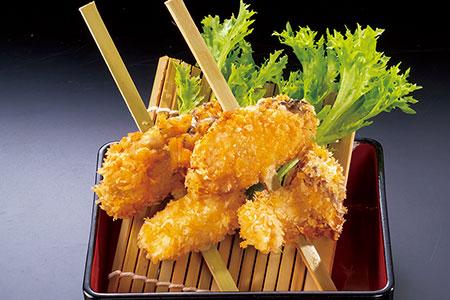広島産 牡蠣の串揚