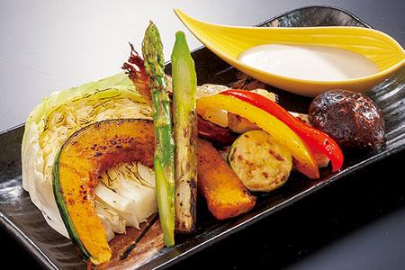 野菜のグリル バーニャカウダ