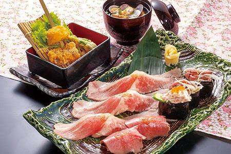 牛寿司ランチ