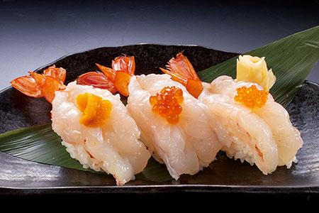 ぷりっと生海老寿司3個セット